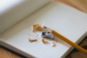 Texten lernen: Ich kann nicht schreiben